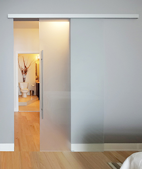 Sliding Glass Barn Doors
