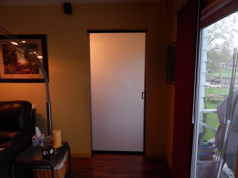 Sliding Glass Closet Barn Doors