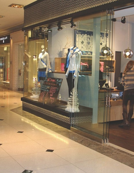 Retail Sliding Glass and Architectural Entry Swing Doors