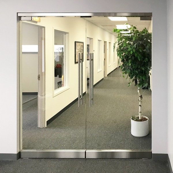 Chicago Glass Architectural Entry Swing Doors