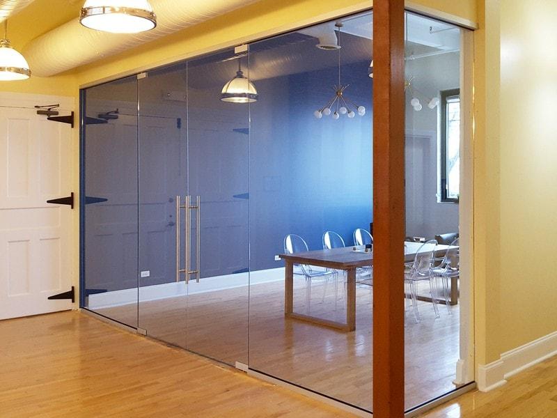 Interior Glass Walls Creative Sliding Doors Of Chicago