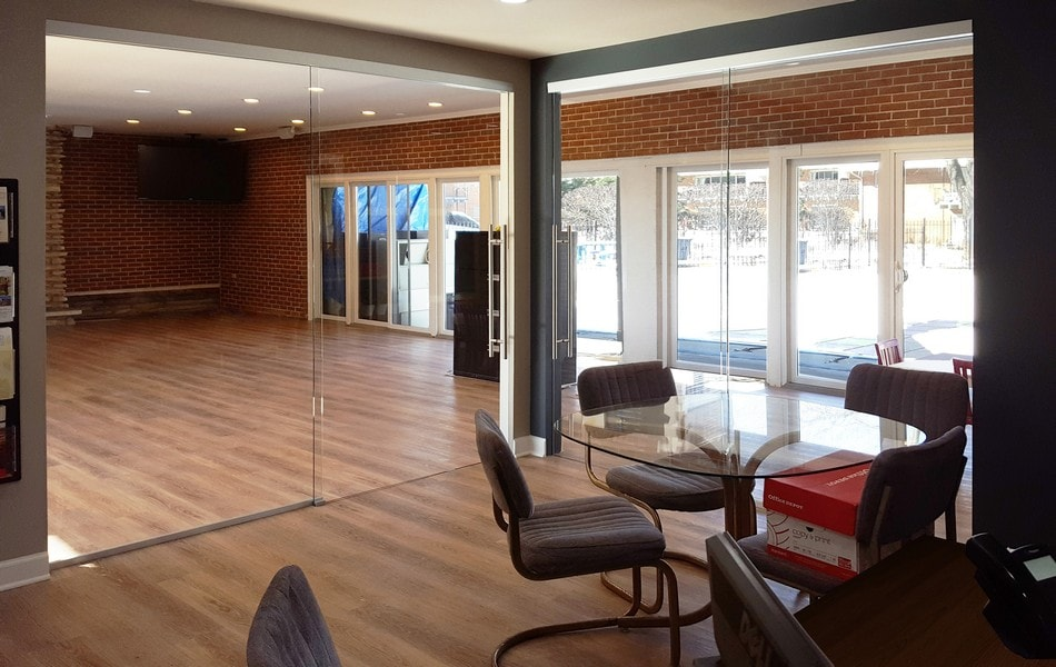 View Larger Image. Corporate Office Sliding Glass Doors And Interior Glass  Walls