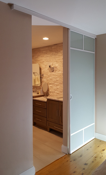 Bathroom Sliding Glass and Architectural Entry Swing Doors