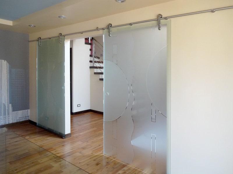 modern glass barn door. View Larger Image Modern Glass Barn Door O