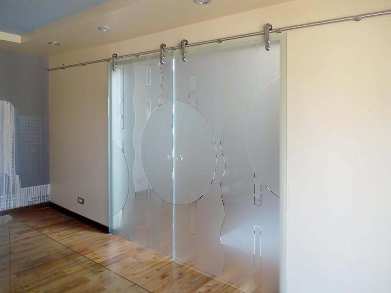 Etched Glass Barn Doors Creative Sliding Doors Of Chicago