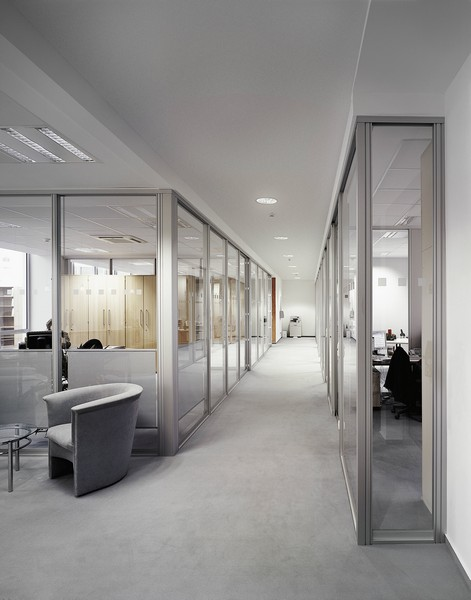 View Larger Image. Corporate Office Sliding Glass Doors And Interior ...