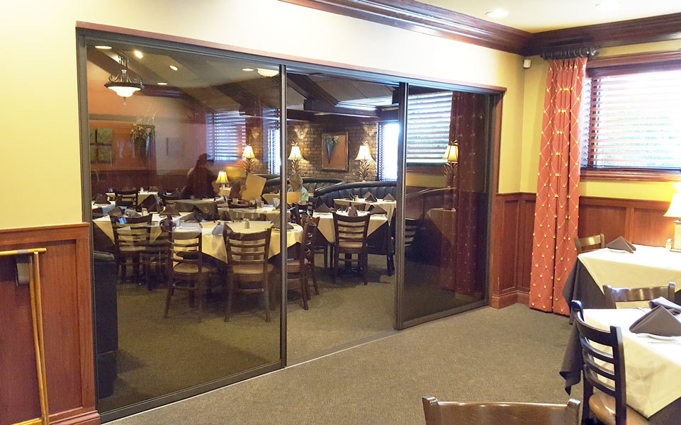 Hotel and Restaurant Sliding Glass and Architectural Entry Swing Doors