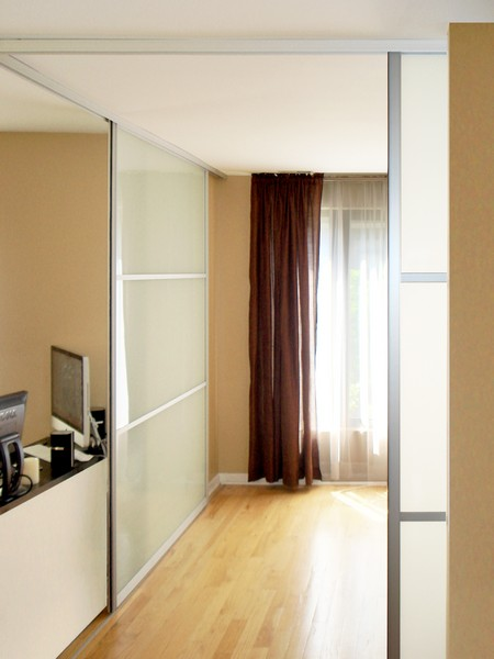 Home Office Sliding Glass and Architectural Entry Swing Doors
