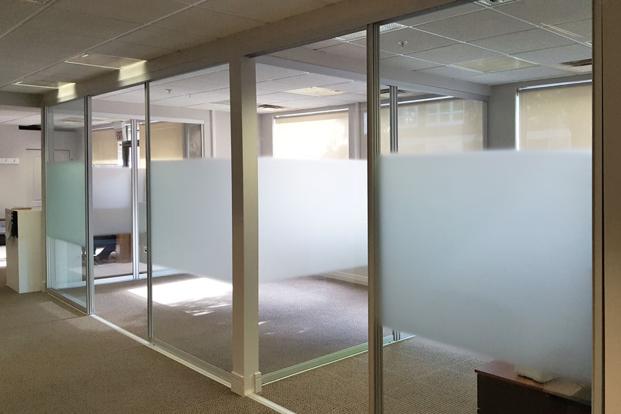 Sliding Glass Office Partitions