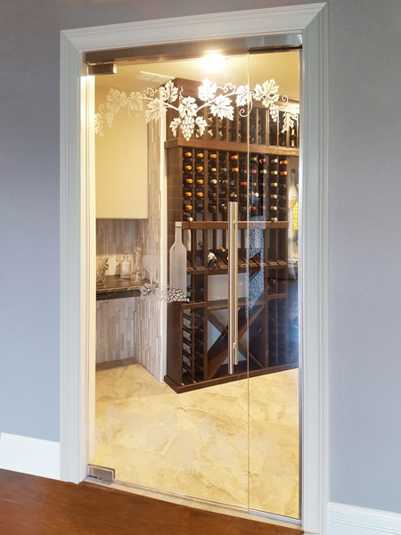 Wine Cellars Creative Sliding Doors Of Chicago