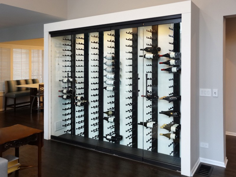 Chicago Glass Wine Cellars and Racks