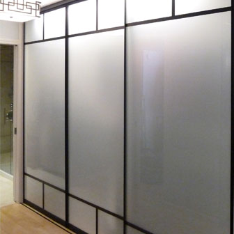 Sliding Glass & Mirrored Closet Doors | Creative Sliding ...