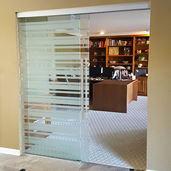office sliding door. Slider + Fixed Glass Office Sliding Door